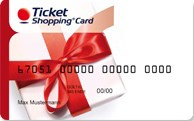 Ticket Shopping Card